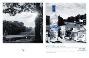 grey goose golf ad